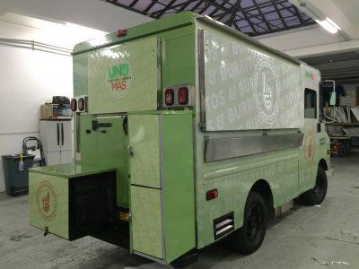 Food Truck, Truck Wrap, Vinyl Wrap