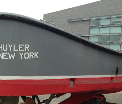 Boat, Cut Lettering, Waterproof