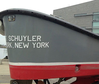 Boat Cut Lettering Waterproof Gallery