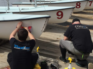 boat_ numbers_ vinyl_ installation