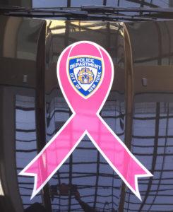 car decal_ breast cancer