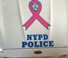 Car Decal, Breast Cancer