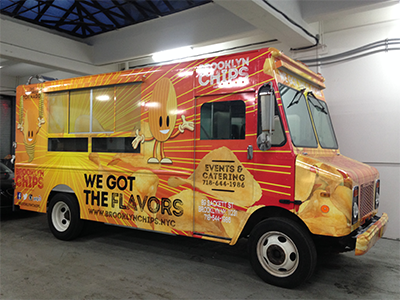 Vehicle Wrap, Van Wrap, Truck Wrap, Vinyl, Food Truck