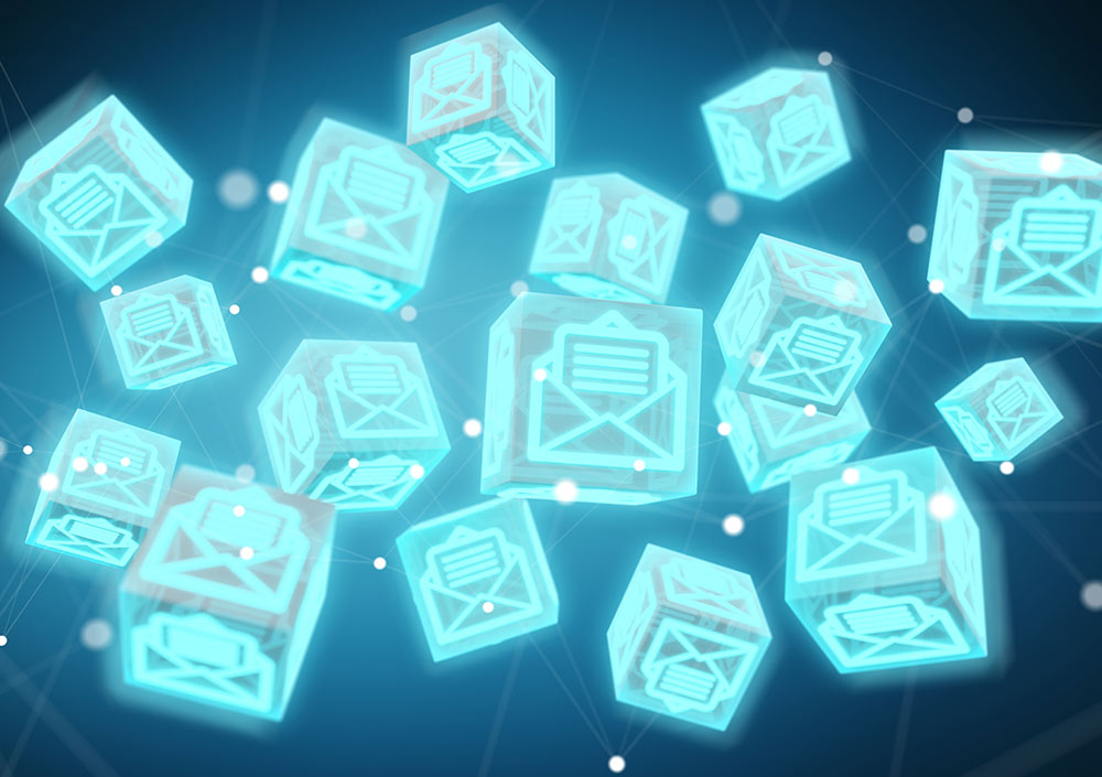 Floating Cube Emails