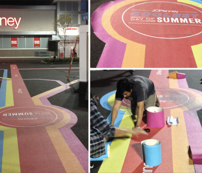 Installation, Pavement Graphics