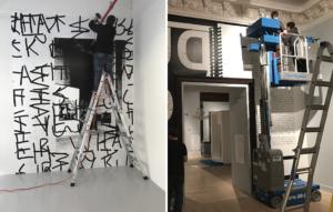 installation_ wall mural