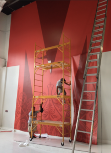 installation_ wall wrap