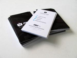 matte business cards