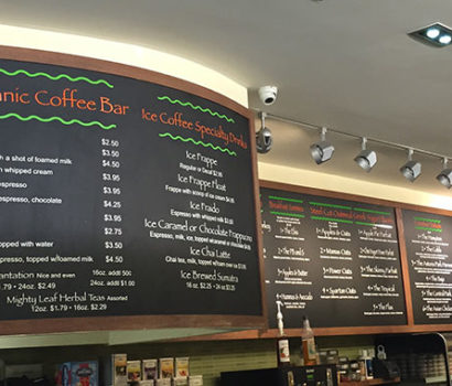 Menu Boards, Vinyl, Full Color Graphics