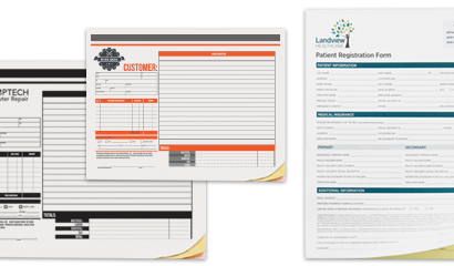 Offset Printing NCR Forms