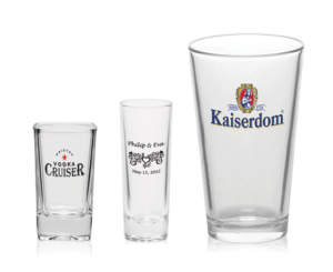 promo products_ shot glasses_ pint glasses