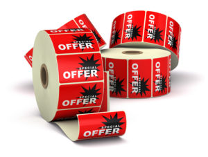 roll label_ stickers