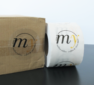 roll label_ stickers_ packaging