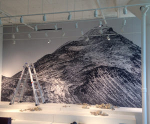 wall display_ installation